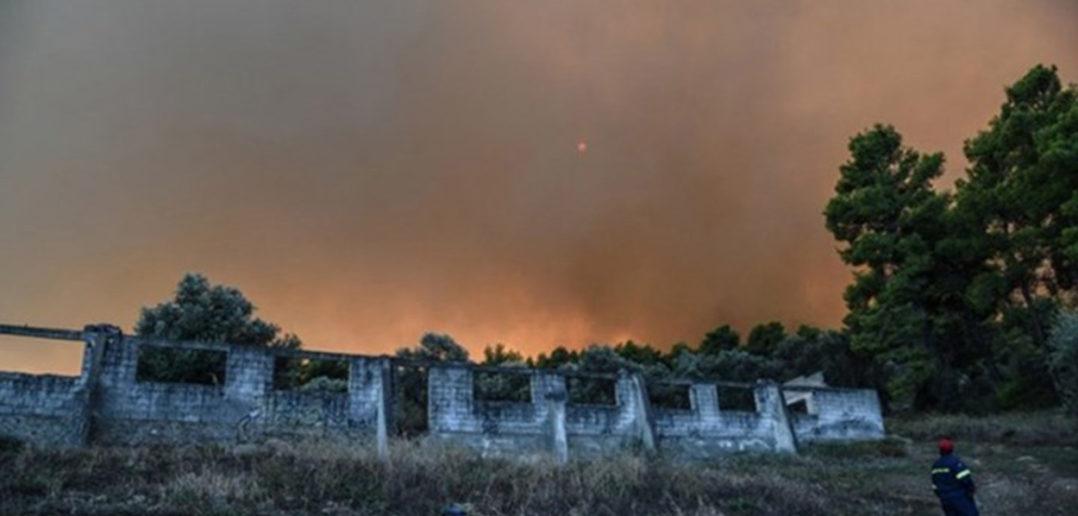 Κερδίζουν τη μάχη με τις φλόγες οι Πυροσβέστες στο Κοντοδεσπότι