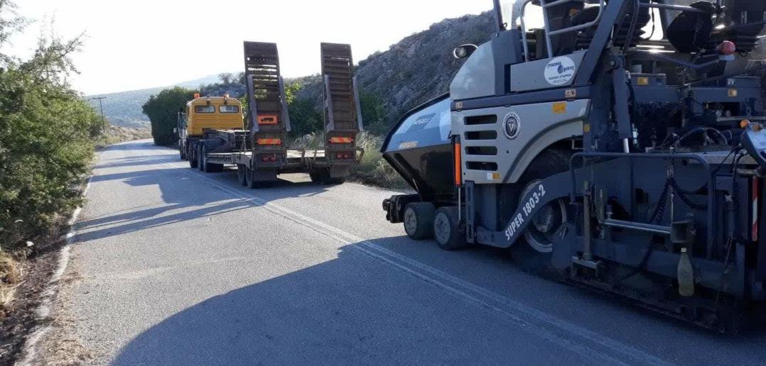 Ξεκινά το μεγαλύτερο έργο για το οδικό δίκτυο της Βοιωτίας