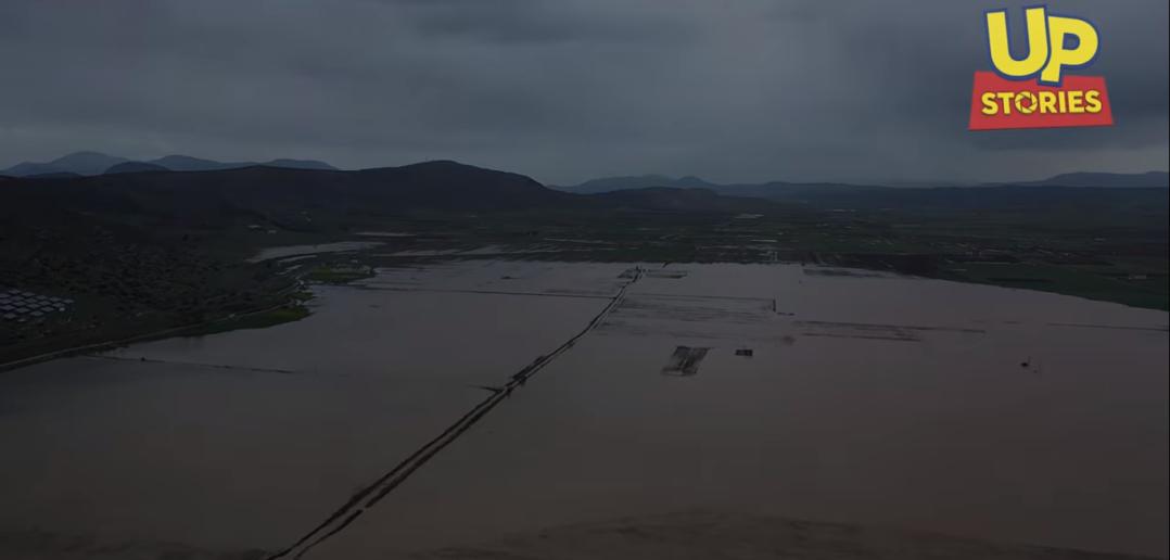 Κωπαΐδα: Επανήλθε η λίμνη μετά την κακοκαιρία