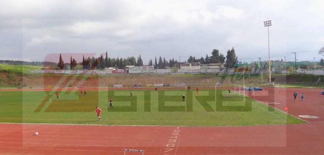 Η Περιφέρεια Στερεάς Ελλάδας βελτιώνει τις αθλητικές εγκαταστάσεις του Δημοτικού Σταδίου Θήβας